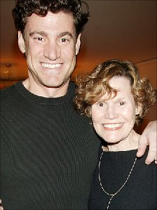 Judy Blume with her son, Lawrence
