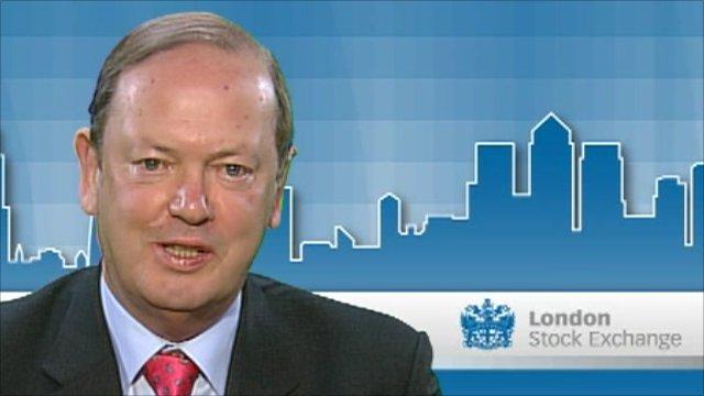 Alan Parker, outgoing CEO, Whitbread