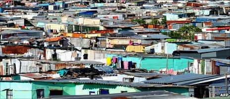 View of Khayelitsha