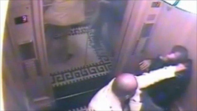 CCTV of Saud Abdulaziz bin Nasser al Saud and his servant was shown at the Old Bailey
