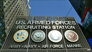 US Armed Forces Recruiting Station