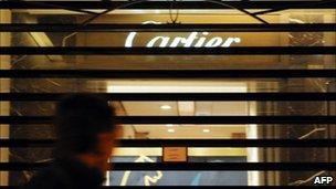 Cartier shop in Via Condotti in Rome, 19 October 2010