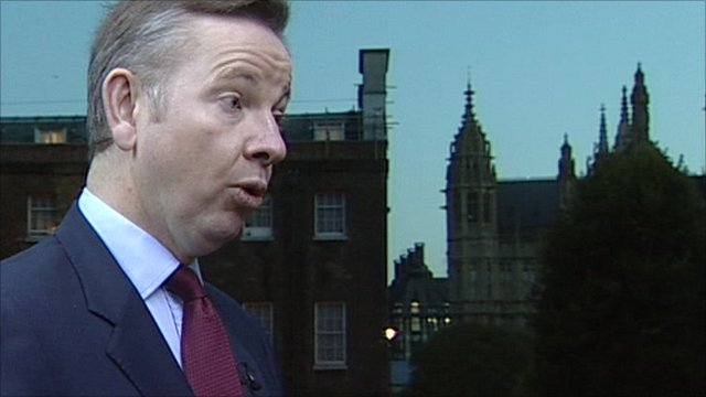 Conservative minister Michael Gove