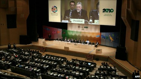 Convention on Biological Diversity meeting