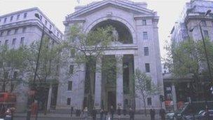 Bush House, the London headquarters of the BBC World Service