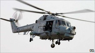 Lynx helicopter
