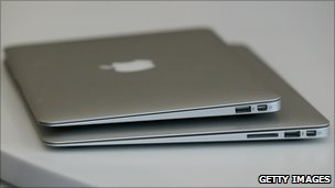 The new Apple Macbook Air laptop