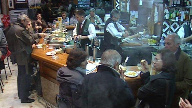 Bar in Madrid