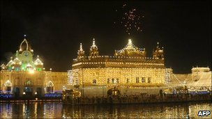 Golden Temple, Amritsar, file pic