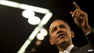 Barack Obama. File pic