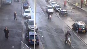 CCTV of motorcyclists police want to trace following a shooting in Norris Green