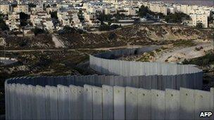 Jewish settlement of Pisgat Zeev in East Jerusalem (16 October 2010)