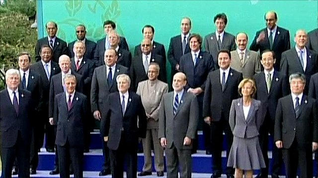 G20 summit in South Korea