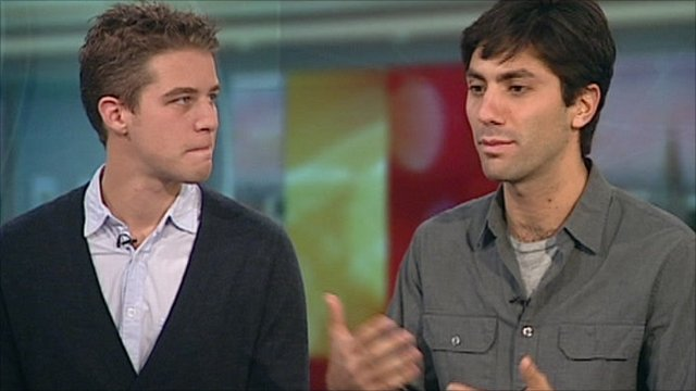 Henry Joost and Nev Schulman, the team behind Catfish