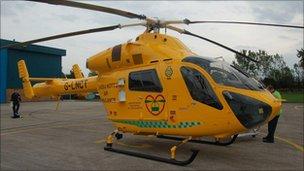 New air ambulance