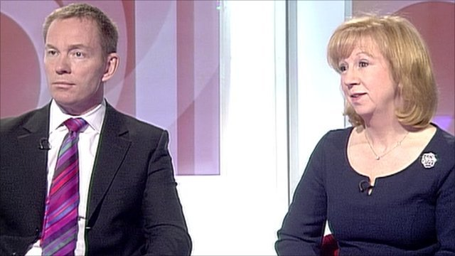 Labour MP Chris Bryant and Conservative MP Eleanor Laing