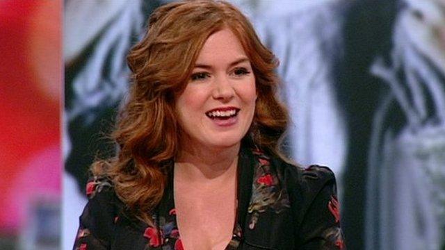 Isla Fisher talks to BBC Breakfast