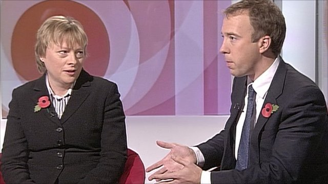 Angela Eagle and Matthew Hancock