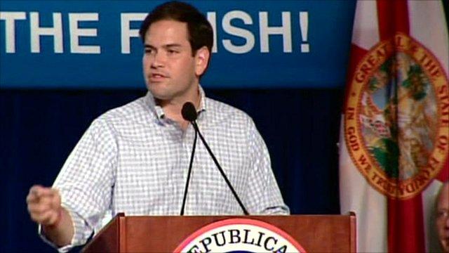 Republican Senate candidate Marco Rubio