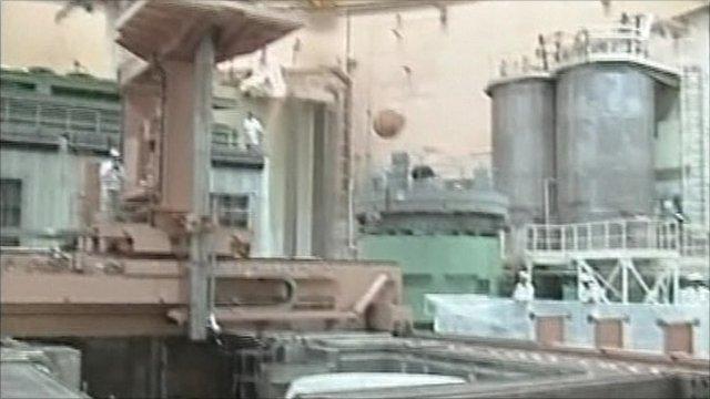 Bushehr nuclear reactor in Iran