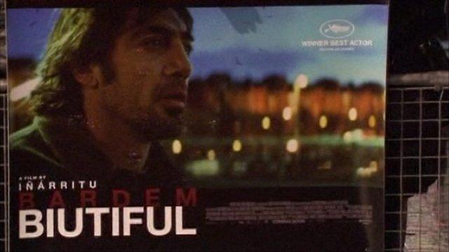 Movie poster of Biutiful
