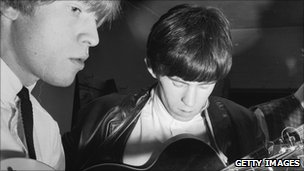 Brian Jones and Keith Richards in 1963