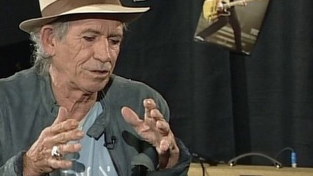 Keith Richards on the Andrew Marr Show
