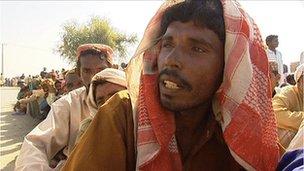 Liaqat Babar, a farmer in Pakistan's Sindh province