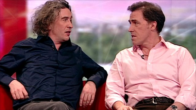 Steve Coogan (left) and Rob Brydon
