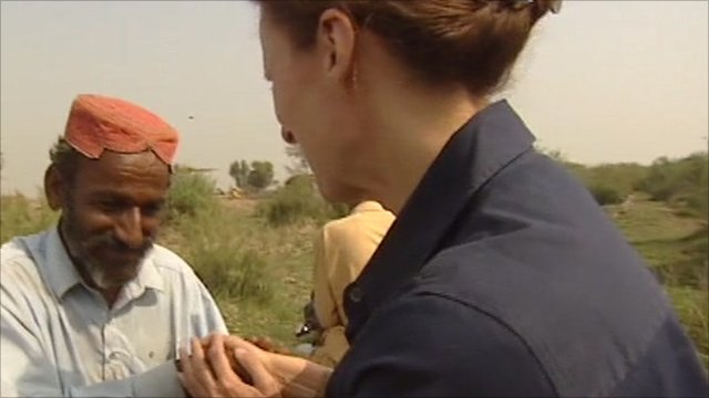 Orla Guerin returns to Sindh province