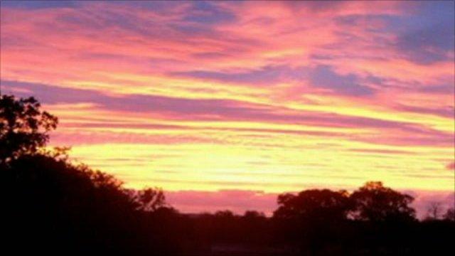 East Sussex skyline