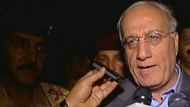 Iraqi Defence Minister Abdel Qader al-Obeidi