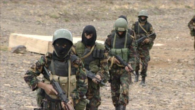 Yemeni anti-terror forces