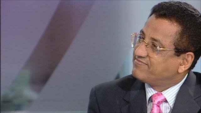 Dr Mohamed Qubaty, advisor to the prime minister of Yemen
