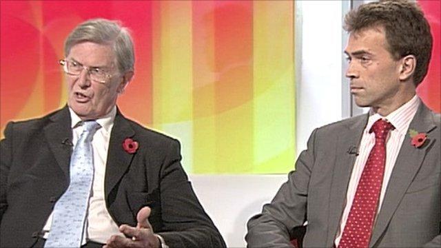 Bill Cash MP and Tom Brake MP