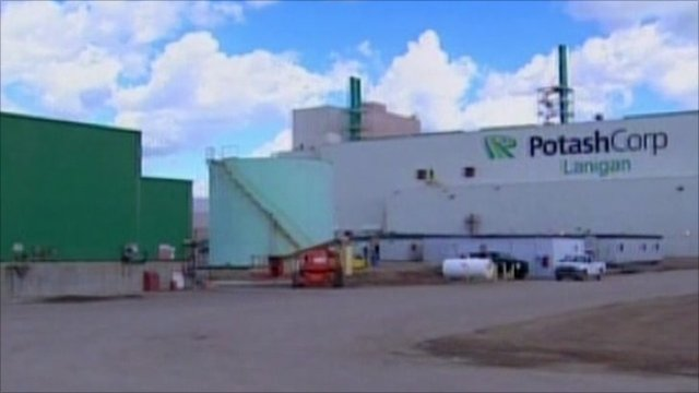 Potash Corp building