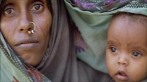 Mother and baby in Ethiopia