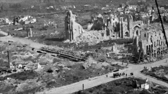 Ruin in Ypres