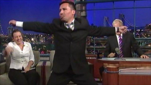 Edison Pena on the David Letterman Show