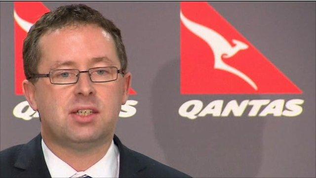 Qantas' chief executive, Alan Joyce