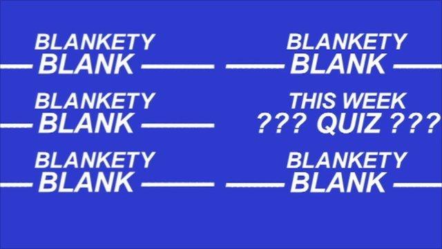 Blankety Blank graphic