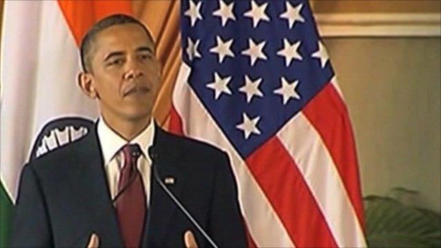 President Obama in India