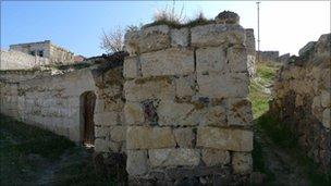 Tuzkoy old village stone