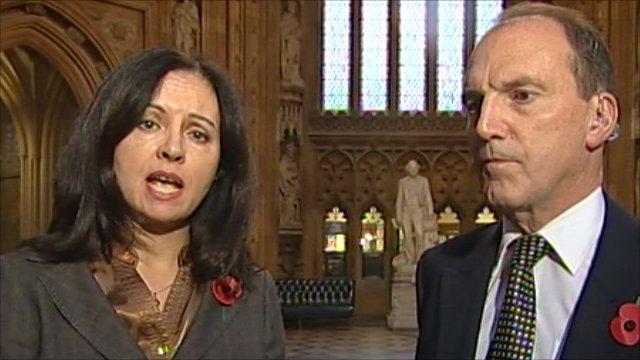 Caroline Flint and Simon Hughes