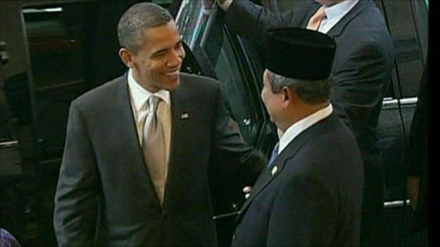 Obama visits Indonesia