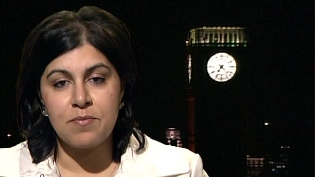 Baroness Warsi on student protest