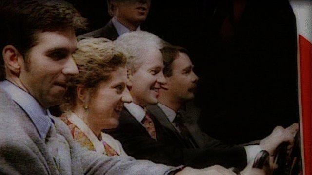 Damon Hill, Sally Gunnell, David Gower and Nigel Mansell
