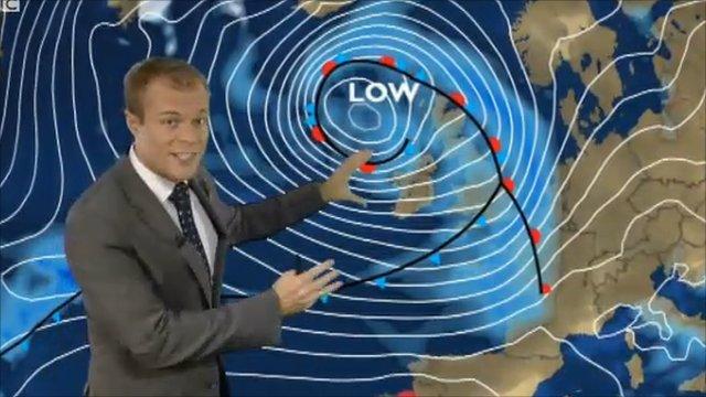BBC weather presenter Simon King