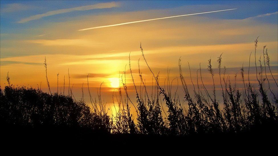 Sunrise at East Wemyss