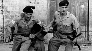 British troops faced two rebel groups in Aden